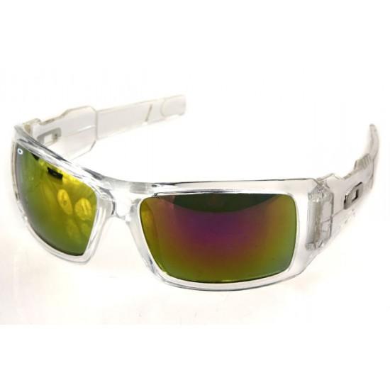 Oakley Antix Sunglass Transparent Frame Deepbrown Lens