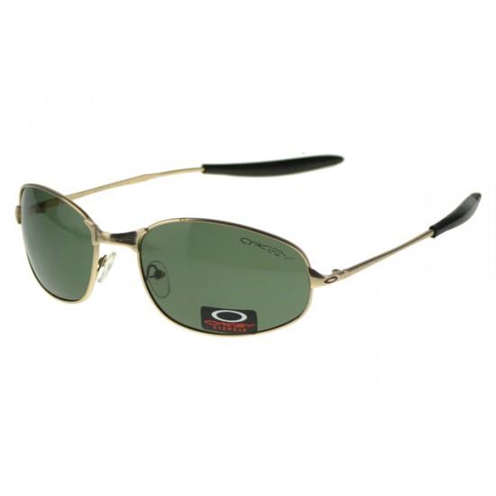 Oakley EK Signature Eyewear Gold Frame Gray Lens-Website Fashion