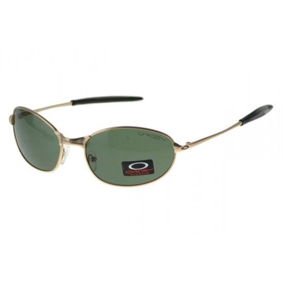 Oakley EK Signature Eyewear Gold Frame Gray Lens-Online Here