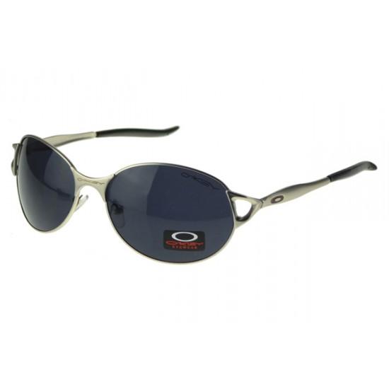 Oakley EK Signature Eyewear Silver Frame Black Lens-Affordable Price
