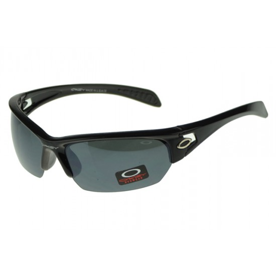 Oakley Flak Jacket Sunglass Black Frame Black Lens-Factory Store
