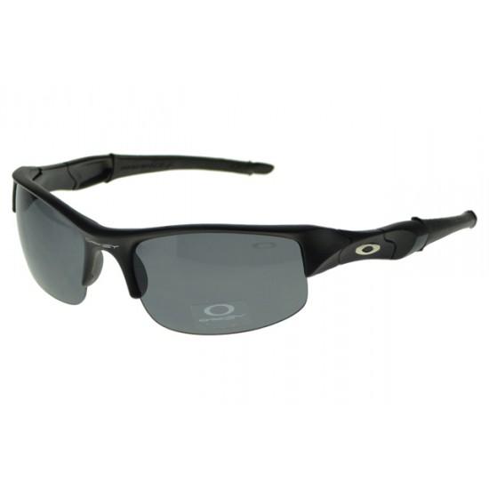 Oakley Flak Jacket Sunglass Black Frame Black Lens-Open Store