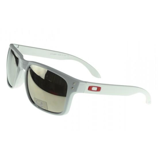 Oakley Holbrook Sunglass White Frame Silver Lens-Cheapwide Range