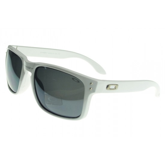 Oakley Holbrook Sunglass White Frame Silver Lens-New Available