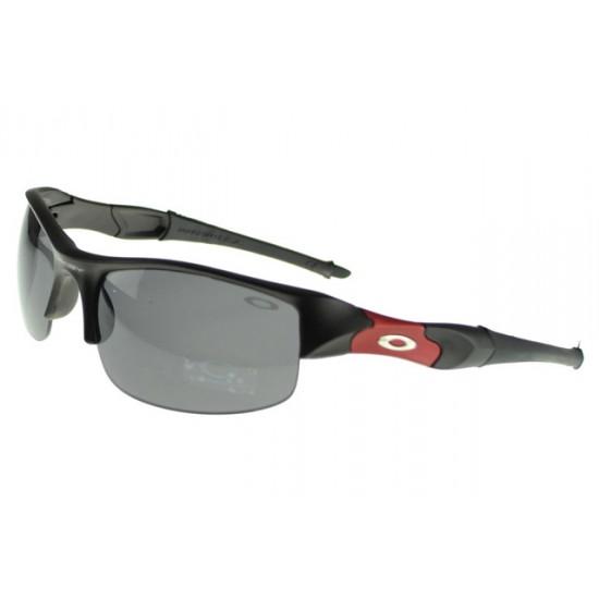 Oakley Flak Jacket Sunglass black Frame blue Lens-Stores